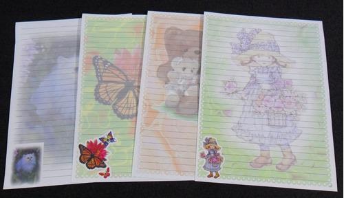 coleção papel de carta com frete grátis