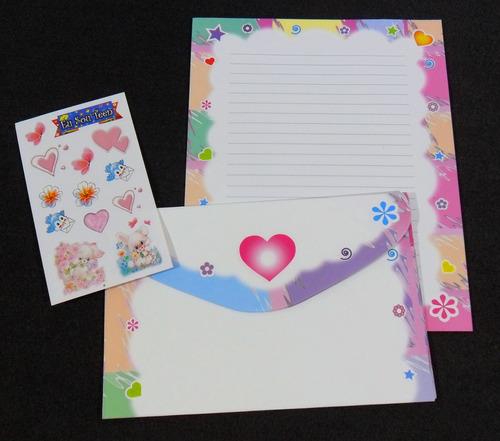 coleção papel de carta - promoção