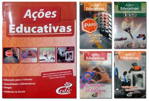 coleção pedagógica ações educativas