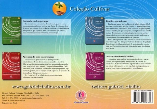 Coleção Pedagógica Cultivar Gabriel Chalita Promoção R 5290