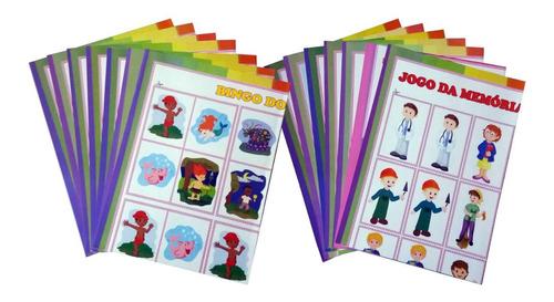 coleção pedagógica doce jardim 4 a 5 anos - promoção