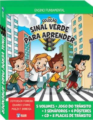 coleção pedagogica sinal verde para aprender - trânsito