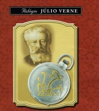 b4874fb19e6 Coleção Relógios Históricos - Júlio Verne - Novo !!! - R  49