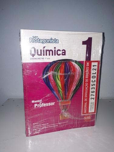 coleção ser protagonista química - volume 1, 2 e 3. ed. sm