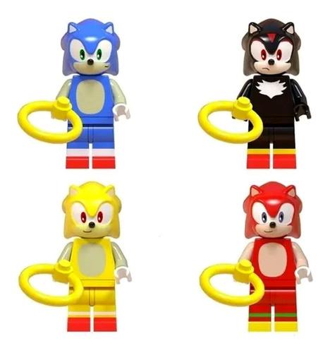 coleção sonic the hedgehog shadow knuckles super sonic