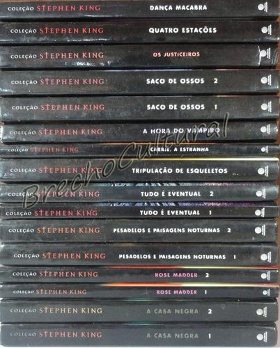 coleção stephen king - capa dura - diversos volumes