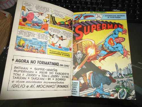 coleção superman ebal formatinho 25 números estado de banca