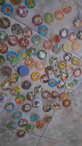 coleção tazos elma chips vários 120 unidades