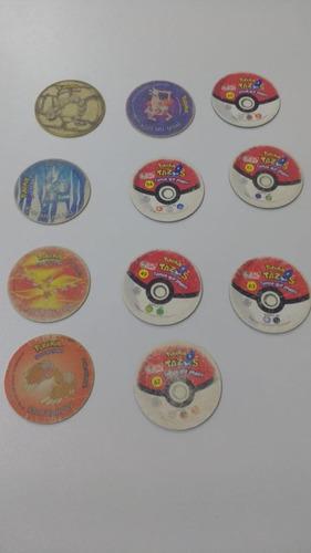 coleção tazos pokemon - faltando 1 tazo para completar