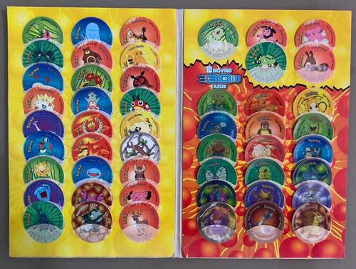 coleção tazos pokémon - simba - elma chips - áfrica do sul