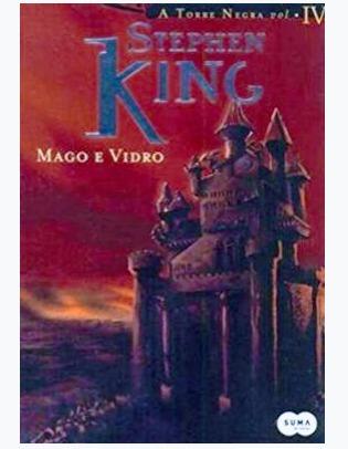 coleção torre negra mago e vidro + lobos de calla livro 4-5