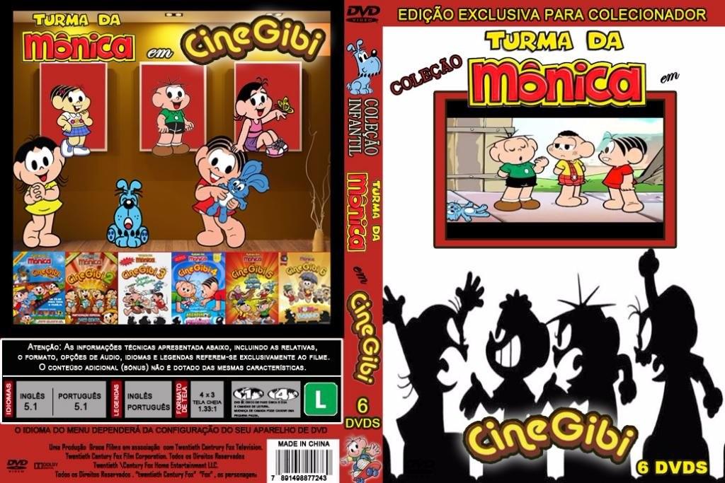 dvd turma da monica cine gibi 1