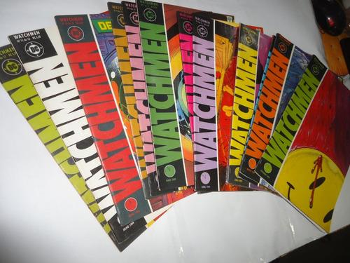 coleção watchmen ed abril 2ª série 12 vols 1999 alan moore
