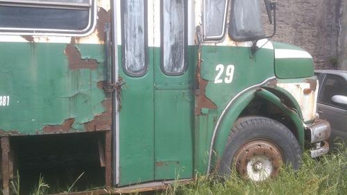 colectivo excelente furgon 1114.ideal restauradores mot.2004