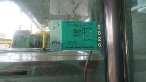 colectivo mercedes benz 1418  año 2010/11/12