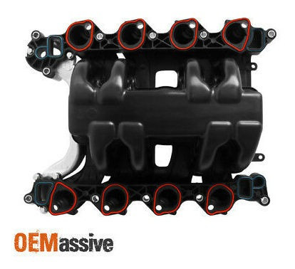 Upper Intake Manifold w// Gasket Thermostat O-Rings For Lincoln Mercury Ford 4.6L