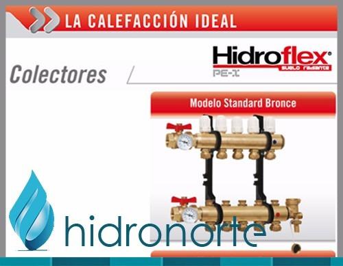 colector de calefacción 4 circuitos hidroflex