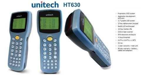 colector de datos 1d unitech ht630