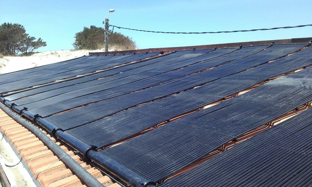 Colector solar para climatizar piscinas u s 55 00 en for Piscina 8000 litros