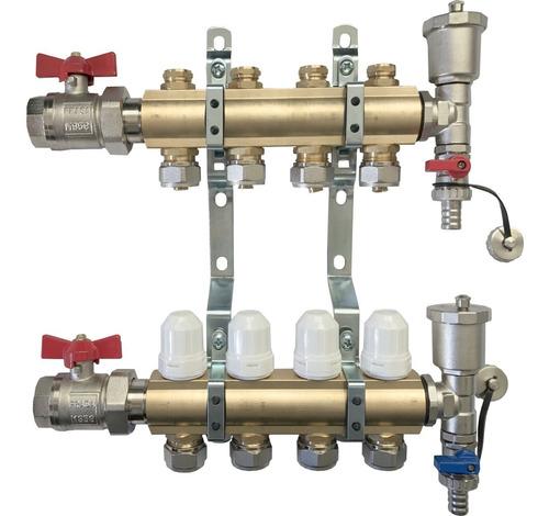 colector súper completo de 4 vías heat flow -el mejor