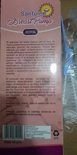 colectora de leche pezonera santolee /escobilla limpieza