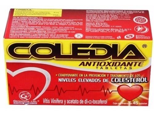 coledia 60 cápsulas gelatinosas