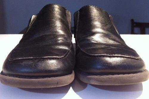 colegial mocasín nº 34 -23,5cm plantilla- negros
