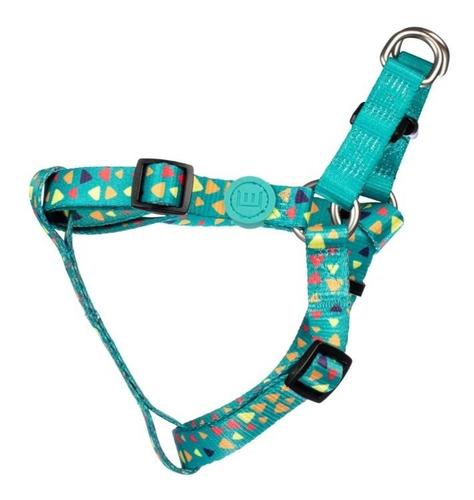 coleira divertida peitoral cachorro guia personalizada p ver