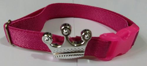 coleira elástico coroa para gatos placa gravada e pingente