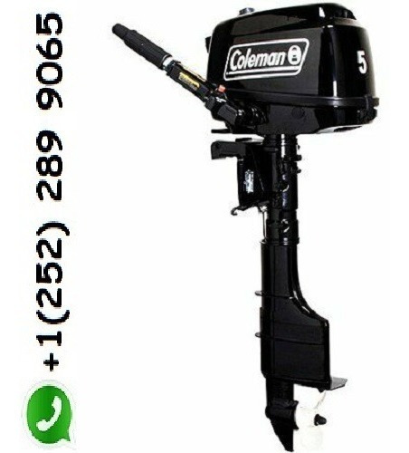 coleman 5 horsepower outboard motor