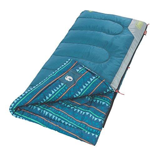 coleman coleman kids 50 grados sleeping bag u17
