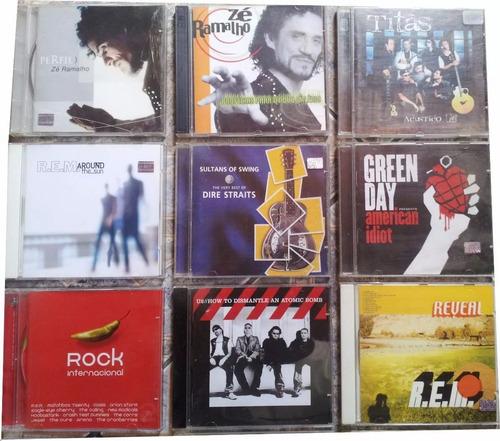 coletania 25 cds originais pop rock nacional internacional