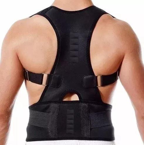 colete cinta postural corretor de postura magnético