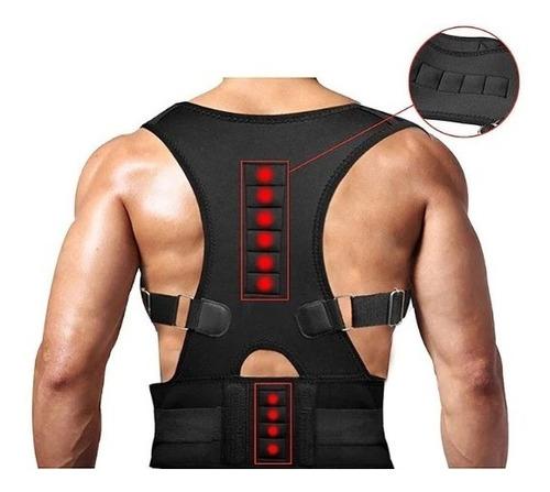 colete cinta reforçada corretor postura coluna lombar saúde
