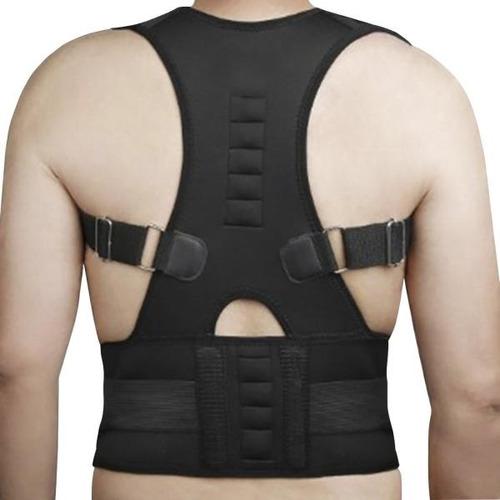 colete corretor de postura magnetico cinta coluna ajustavel