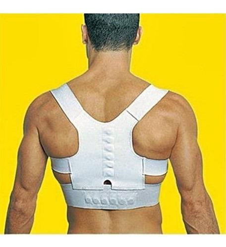 colete corretor de postura magnetico cinta para correcao pos