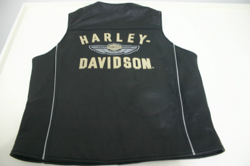 colete couro harley davidson 100 aniversário limited edition