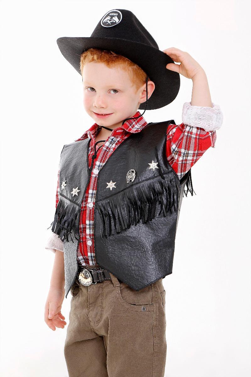 d147f0931c5f8 colete cowboy infantil fantasia menino ou menina country. Carregando zoom.