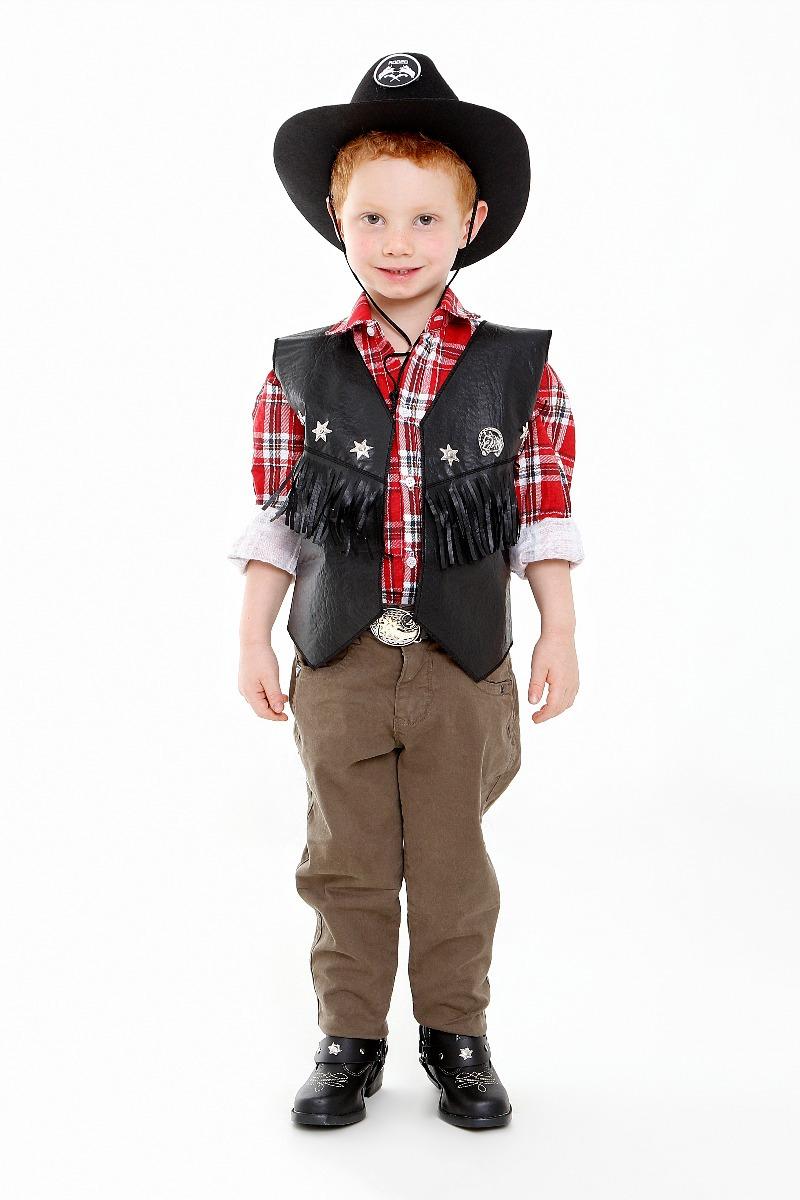 dd1195c322ede Carregando zoom... colete cowboy masculino ou feminino infantil roupa  country