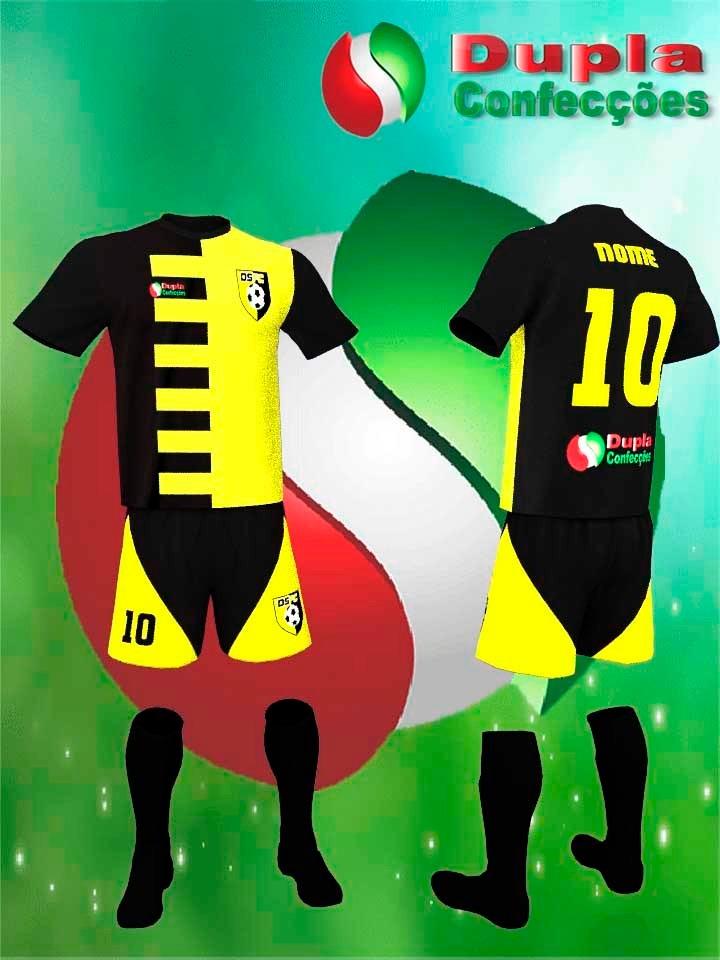 d50f0ae06c Colete De Futebol Infantil Personalizado Com 2 Estampas - R  12