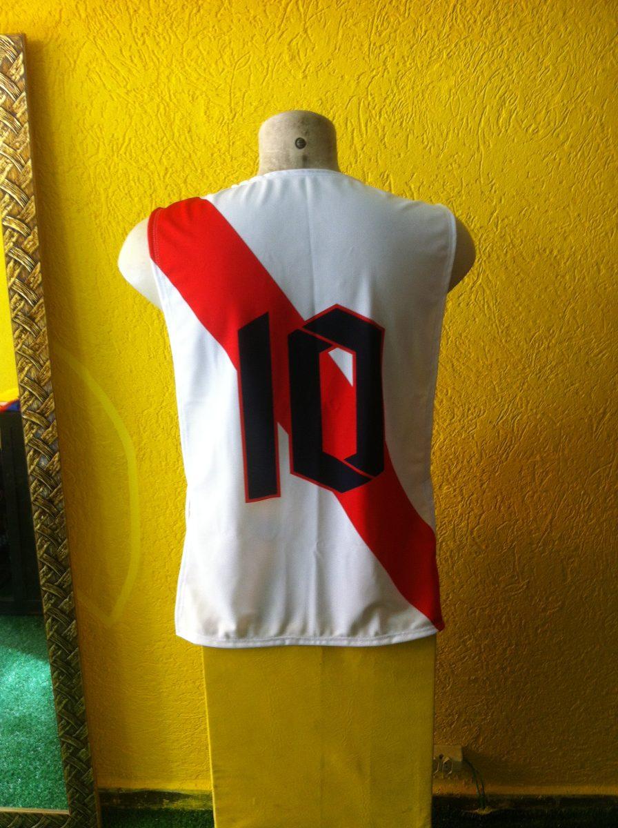 Colete De Futebol River Plate (kit Com 6) - R  119 120cf4b687921