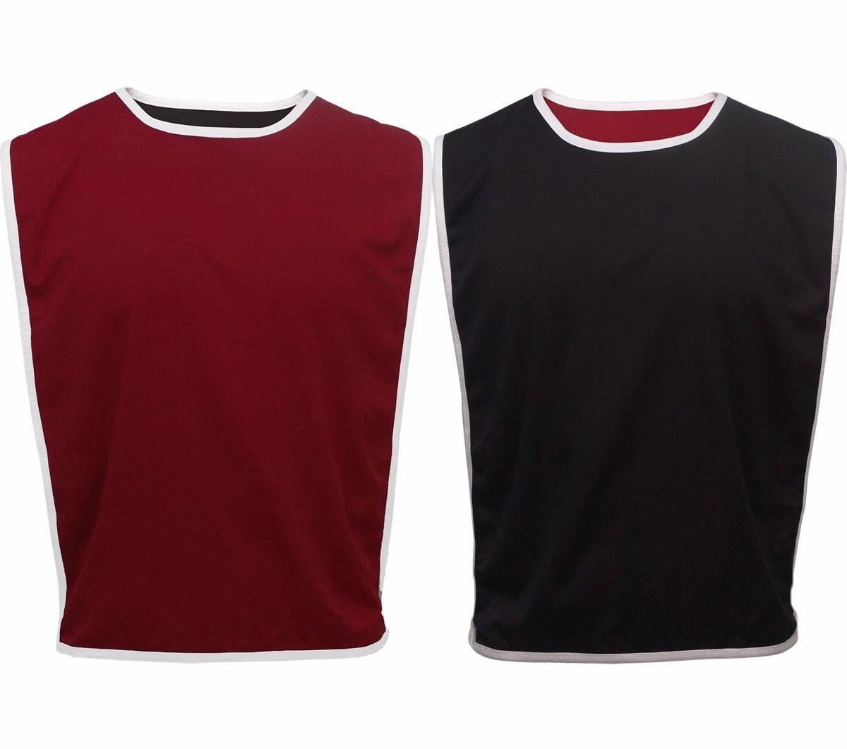 Colete Dupla Face Preto E Vermelho (60x45cm) 100% Poliéster - R  16 ... 52b37aaf97545