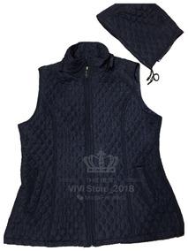 b2ed0486d2 Colete Nylon Feminino Azul Marinho - Calçados