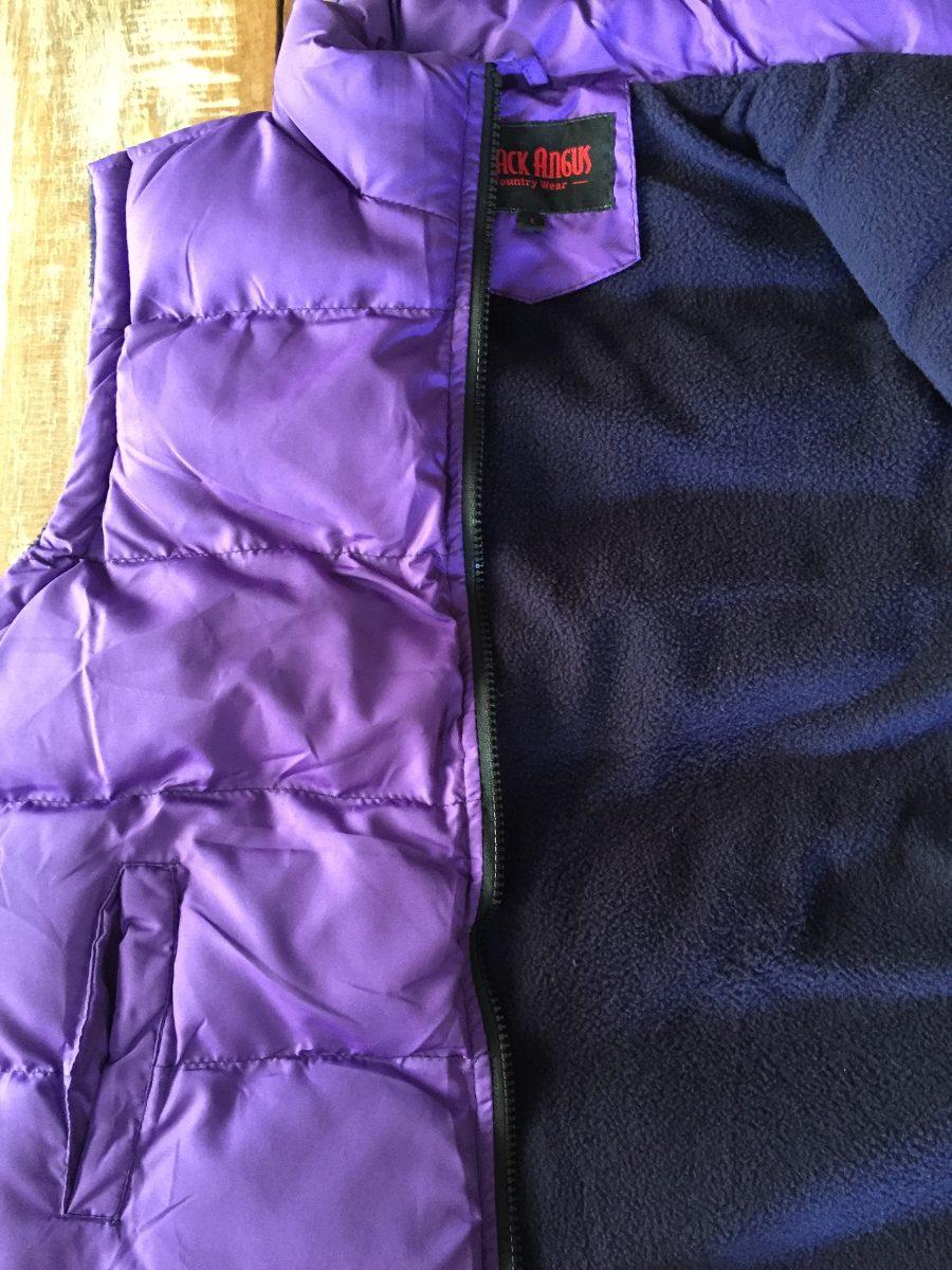 colete feminino country forrado black angus roxo promoção. Carregando zoom. acc0a736e6a