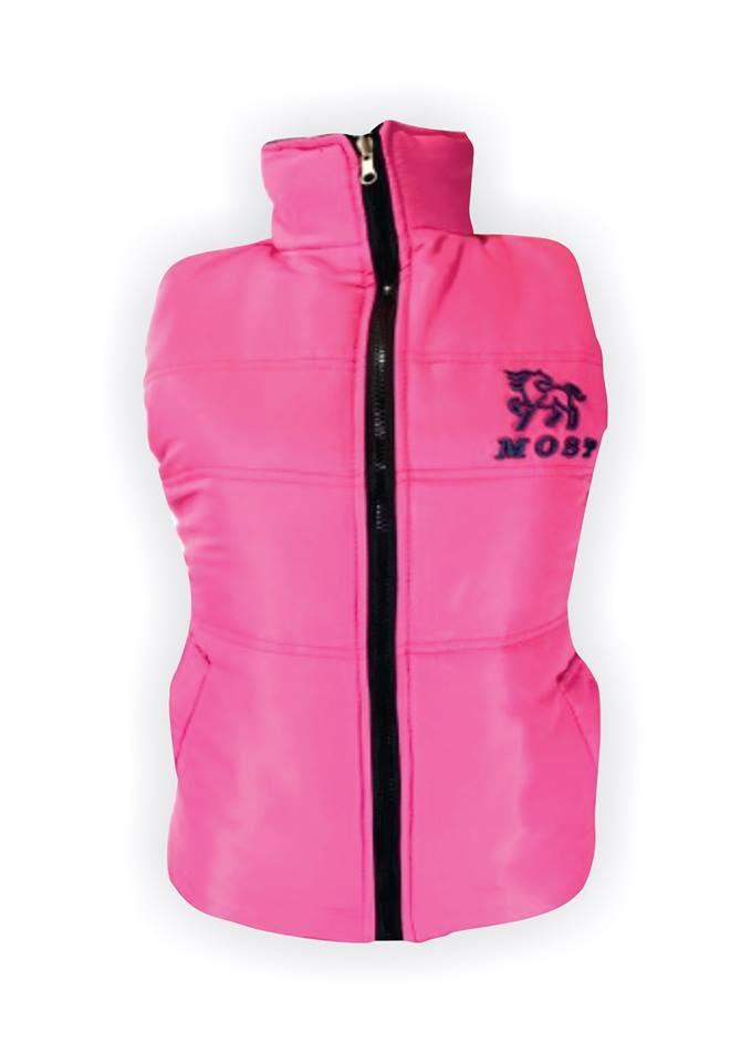 46b4a1cb58692 colete feminino most rodeio rosa   preto. Carregando zoom.