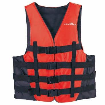 colete flutuante coast esportes aquático para 50kg - nautika