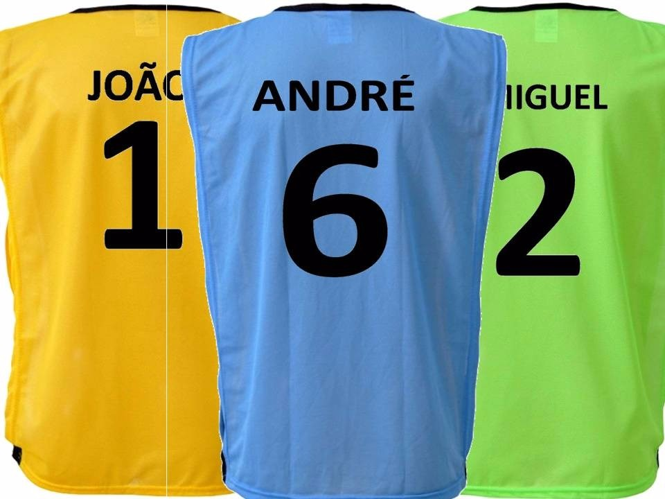 432f3b23859fd colete futebol personalizado numerado nome - 10 un. Carregando zoom.