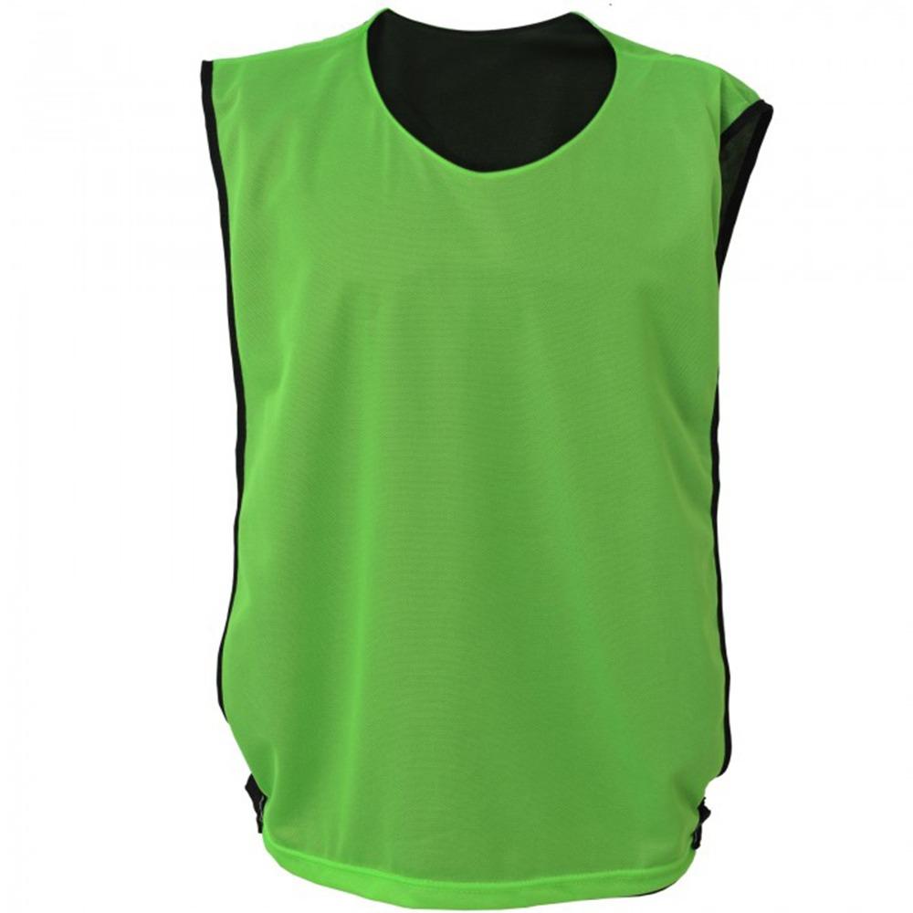 Colete Futebol Dupla Face Kanga Sport Treino Preto-verde - R  14 9dd9d21c8aba8
