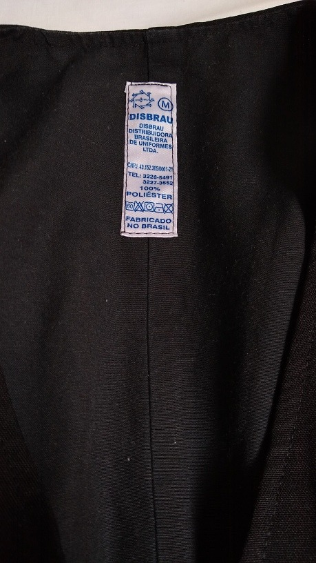 Colete Garçom - Preto Liso - Emporio Colombo - R  35 98cf7b8731a09