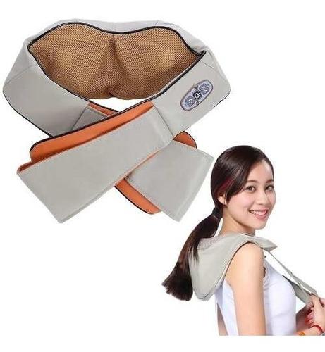 colete massageador profissional shiatsu bivolt relax bivolt